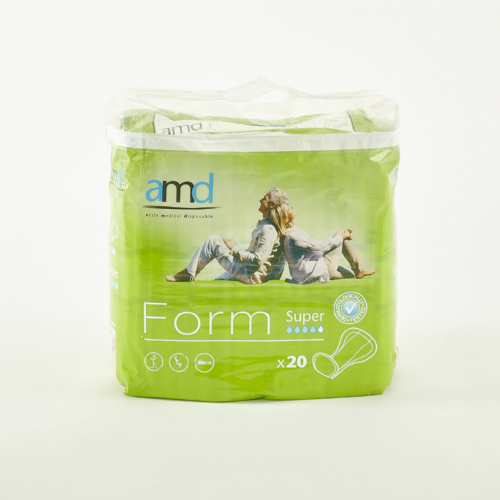 AMD Form Super  - Incontinence Pads Pack of 20